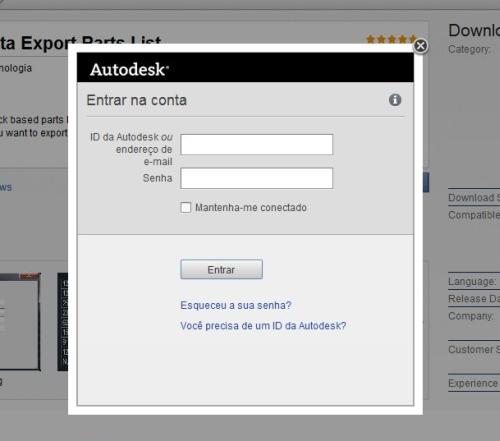 Login Autodesk